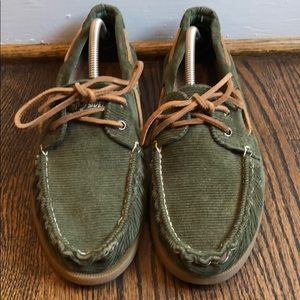 Sperry Top Siders - Corduroy: Rare